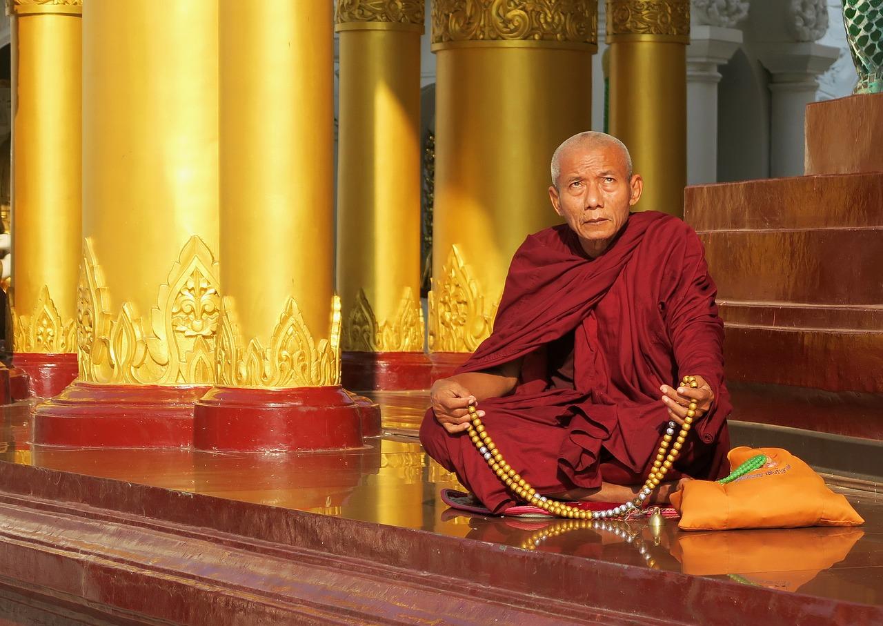 Shwedagon Pagoda monaco