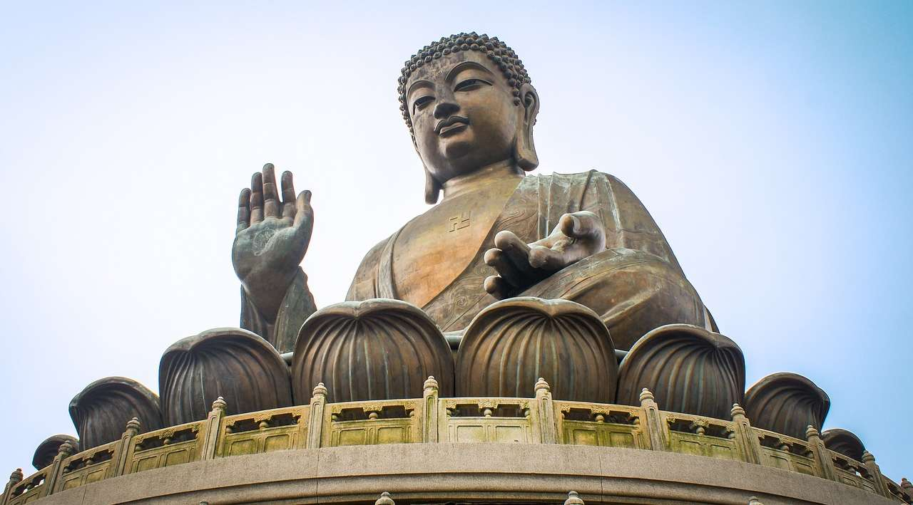 lantau il grande buddha
